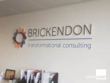 Brickendon logo sign
