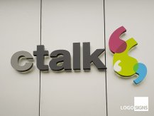 CTALK 3d illuminated business signs