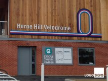 Herne Hill Velofrome sign