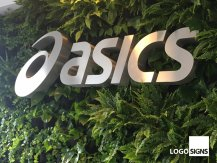 asics logo sign