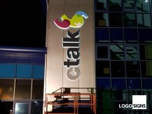 ctalk illuminated signage