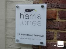 harris jones plaque